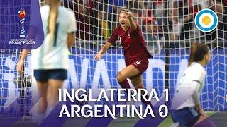 Gol de Inglaterra | Inglaterra 1 - 0 Argentina - Mundial de Fútbol Femenino FIFA 2019