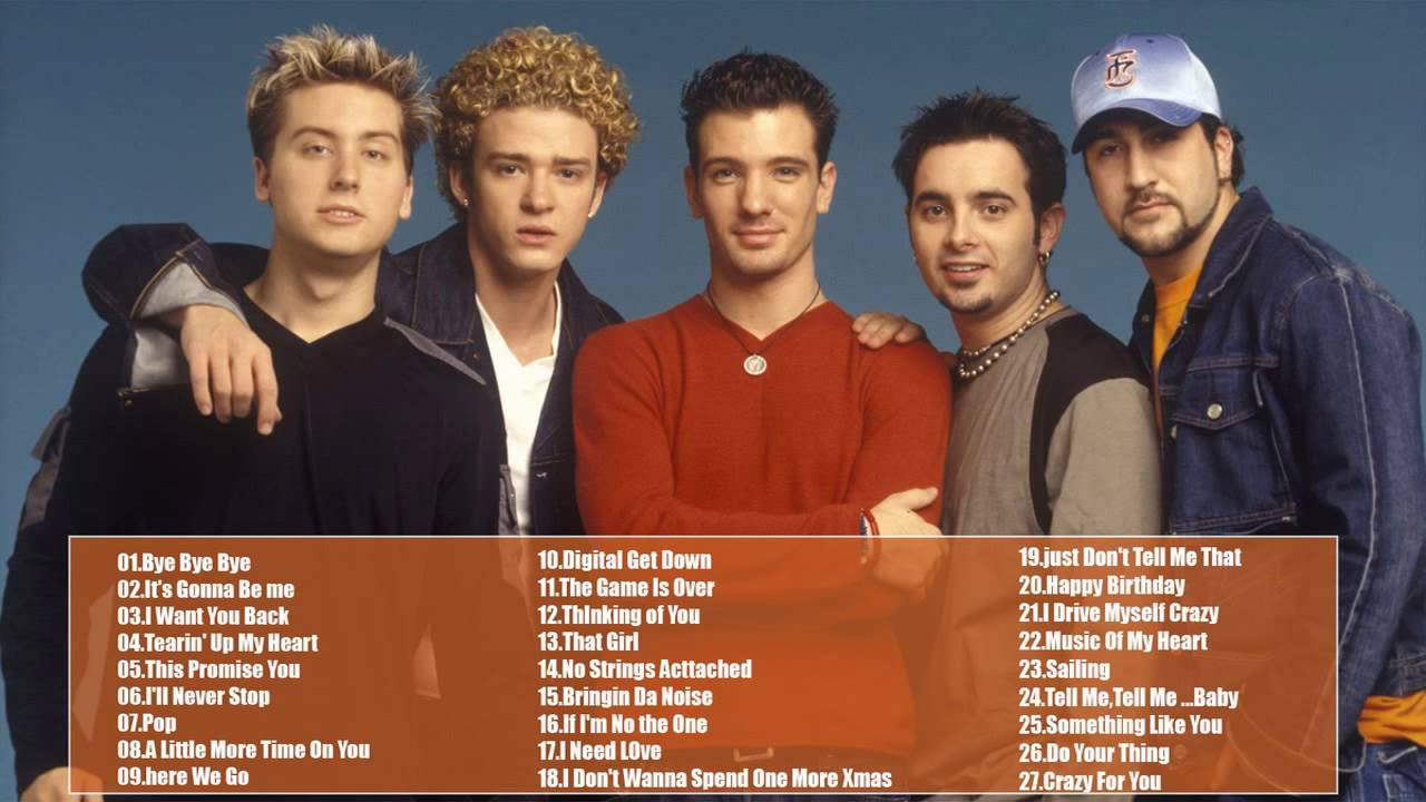 N Sync Best Songs Collection || The Best Songs Of N Sync - YouTube