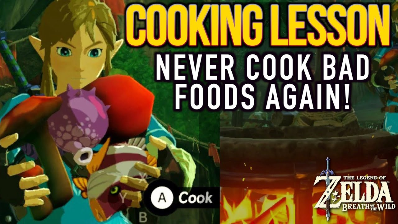 Breath Of The Wild How To Cook And Avoid Dubious Foods Youtube