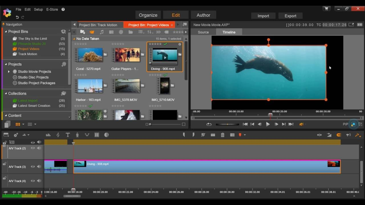 Cropping and Resizing in the Timeline - Corel Discovery Center