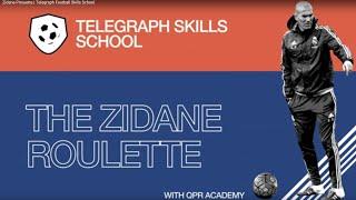 Zidane Pirouette | Telegraph Football Skills School