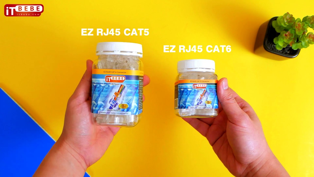 small resolution of why you should use end pass through rj45 cat5 cat5e or cat6 connectors