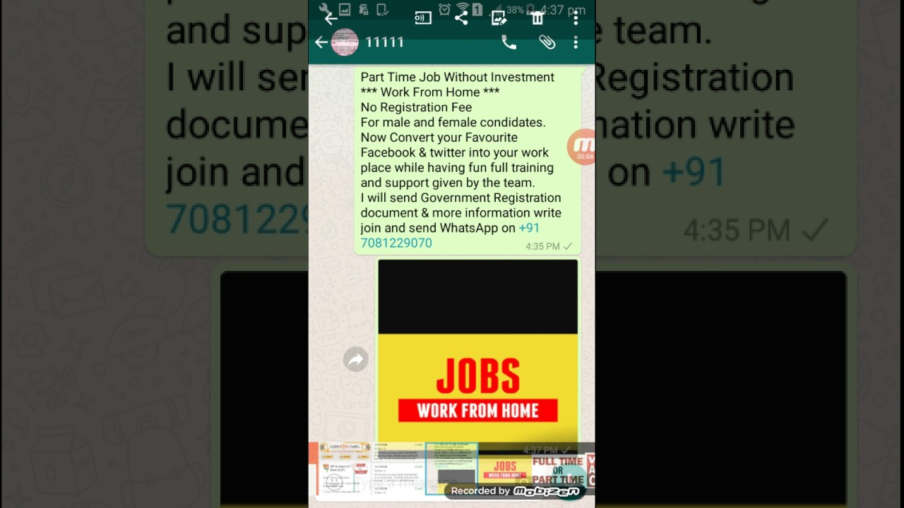 Part Time Job (With Android Phone)