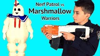 Nerf Patrol vs The Marshmallow Warriors