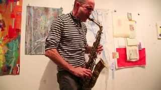 Under_line Salon: Rob Brown - solo alto saxophone - Arts For Art, NYC - October 2014