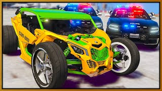 GTA 5 Roleplay - I BUILT CUSTOM RACE CAN-AM & COPS HATED IT | RedlineRP