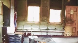Inside the abandoned Sykesville train station
