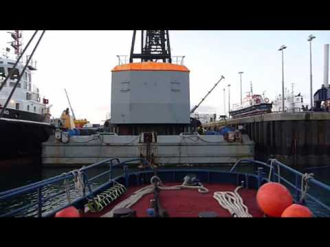 Towing from Hatston Kirkwall Orkney Isles