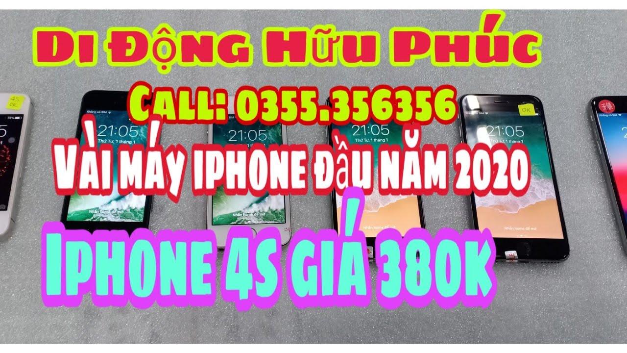 02.01.2020. Điện thoại cũ giá rẻ. Iphone giá 380k. Iphone 5,5s.6,6s. Giá mùa tết. 0355356356