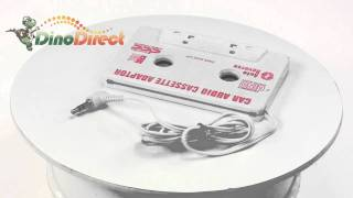 Car Audio Cassette Tape Adapter for iPod  from Dinodirect.com