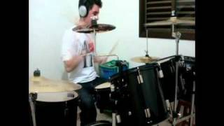 Leandro - Only Girl - Mike Tompkins (rihanna cover) Drum cover