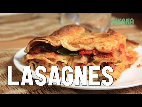 recette-facile-:-lasagnes-végétariennes-aux-légumes