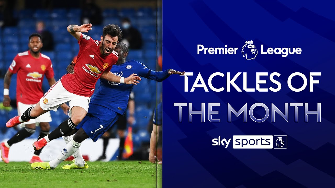 The Premier League's Best Tackles of the Month! 👏 | Rice, Wan-Bissaka & more! | February 2021