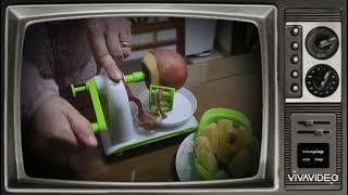 사과깎는 기계