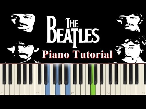 how to play hey jude on piano