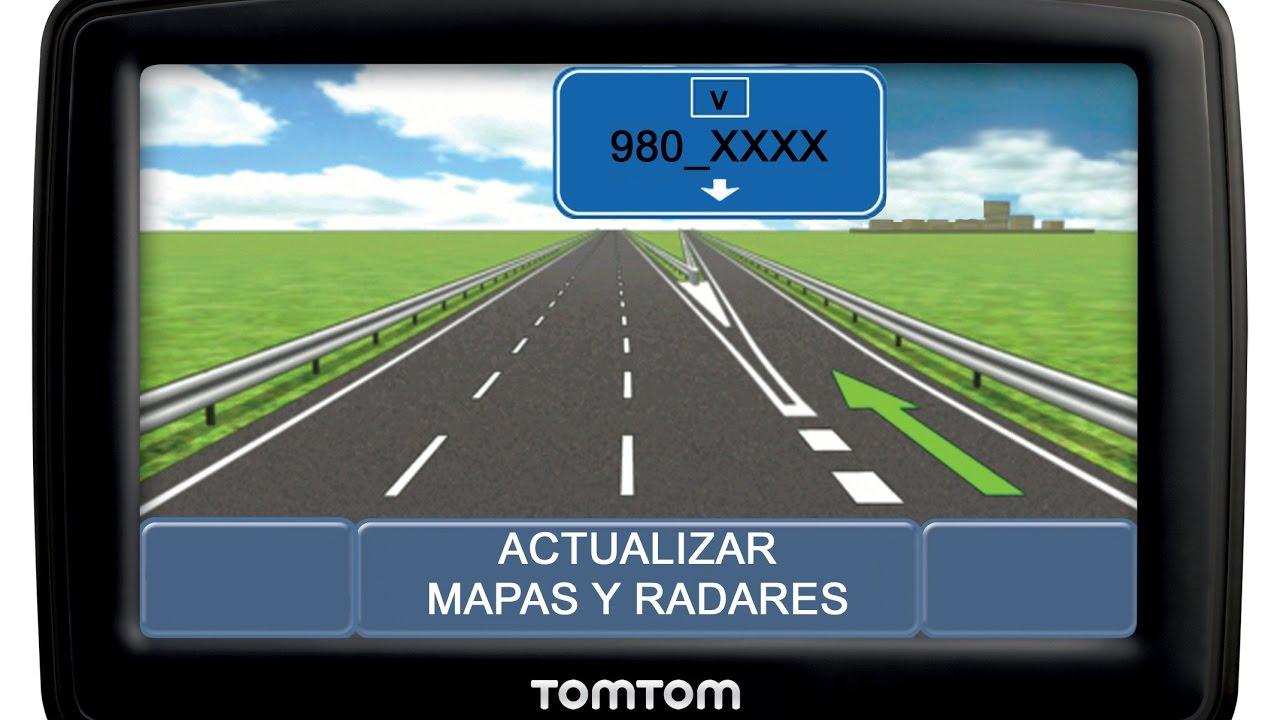 Actualizar Mapas 980 Xxxx Y Radares Tomtom Gratis Youtube