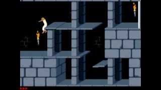Prince of Persia (DOS, 1989) Intro + Gameplay