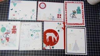 SSS December 2015 Card Kit | Holiday Cards 8-14