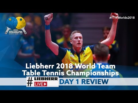 2018 World Team Championships I #LiebherrLive Day 1 Review
