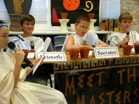 My Greek Poetry Recital Part 2