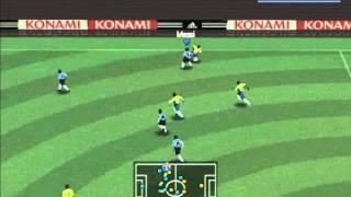 Argentina 3 - 0 Brazil - Quarter Final - 1th Half - PES 4 PC GAME