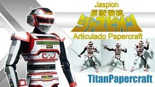Jaspion Articulado Papercraft