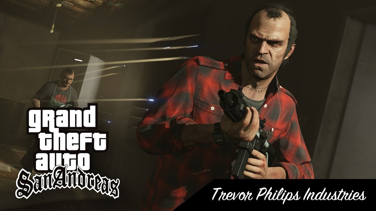 GTA SA - Missions 16 - Trevor Philips Industries [From V]
