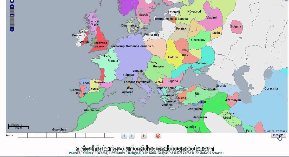 Un Gran Atlas Historico Interactivo Geacron Youtube