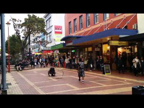 New Zealand , Wellington, Cuba Street