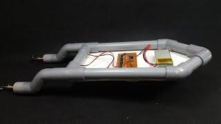 Chế Thuyền Mini 2 Động Cơ bằng ống Nhựa PVC
