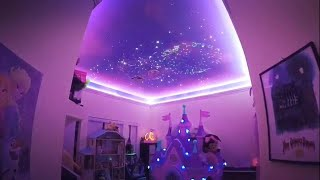 Dad Re-creates Disney's Fireworks Display on Daughter's Playroom Ceiling