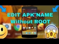 How To Change Android App Name  & Icon Without Root From Android Easy method