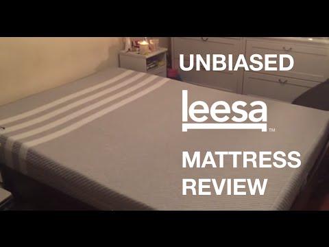 Leesa Bed UNBIASED Mattress Review