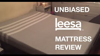 Leesa Bed UNBIASED Mattress Review