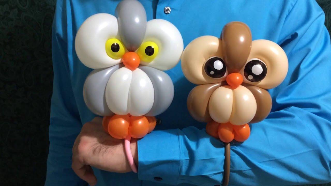 Very Baby Owls Balloon Bracelets - YouTube KA41