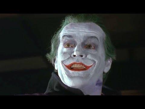Танец Джокера. Джек Николсон в роли Джокера. Бэтмен (1989)