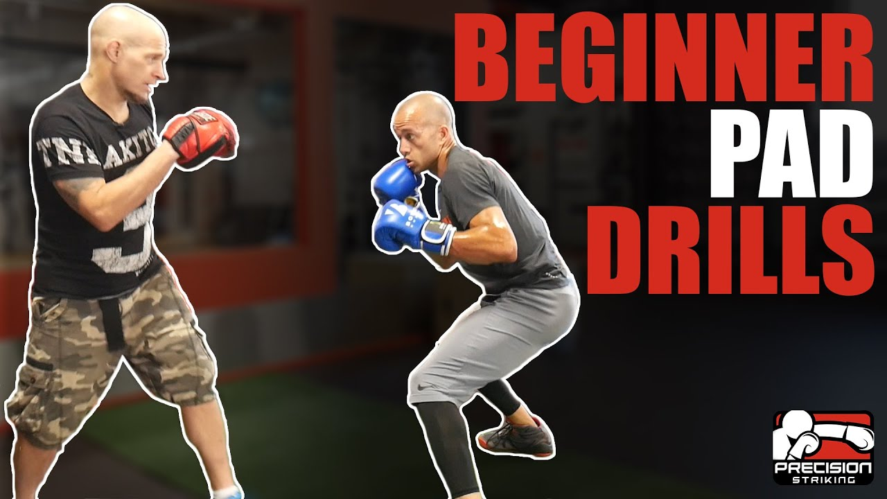 Beginner Boxing Pad Drills Also For Shadow Boxing Or On The Heavy Bag Youtube