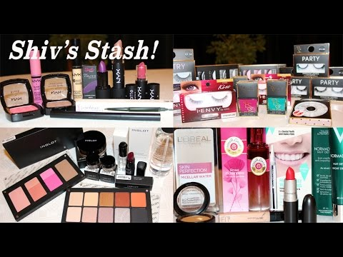 Shiv's Stash!!! HUGE Collective Beauty Haul.