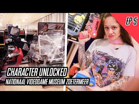 Character Unlocked EP5 | Nationaal Videogame Museum Zoetermeer | Biggest Arcade EVER! | Video Report