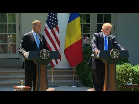 Trump, Romanian President's press conference (full)