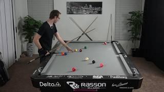8 Ball Pool Break & Run with Live commentary -- Venom Trickshots