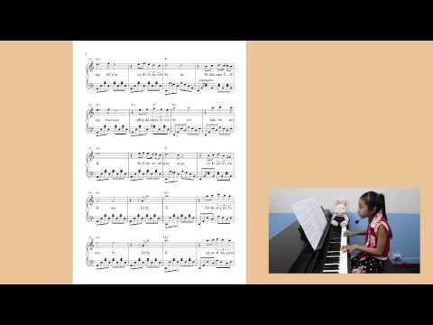 โน๊ตเปียโน เพลงนิทรา - มิน ( Ost. ล่ารักสุดขอบฟ้า)