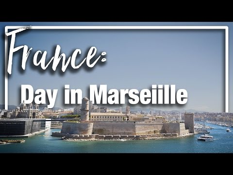 France: Day in Marseille exploring the old port and walking