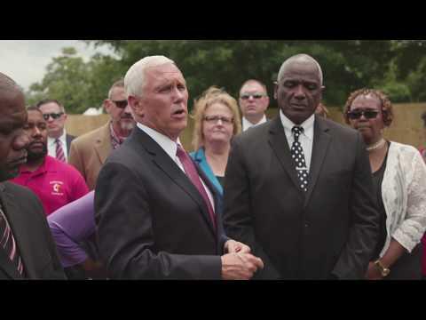 Vice President Pence Visits Mt. Pleasant Baptist Church in Louisiana