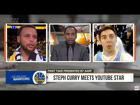 IM ON ESPN WITH STEPHEN CURRY