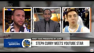 IM ON ESPN WITH STEPHEN CURRY thumbnail