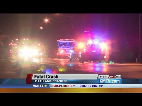 Driver killed in a west Omaha fiery crash