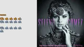 Selena Gomez The Heart Wants What It Wants only with Choir Karaoke by Rolf Rattay HD