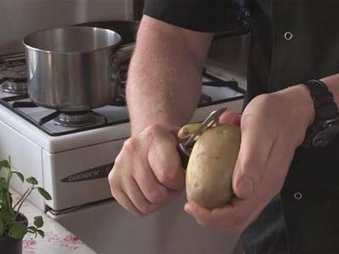 How To Use Your Potato Peeler
