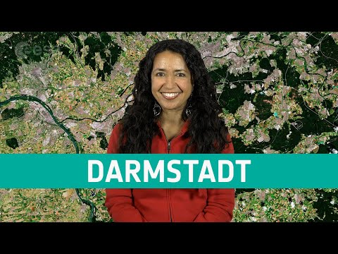 Earth from Space: Darmstadt
